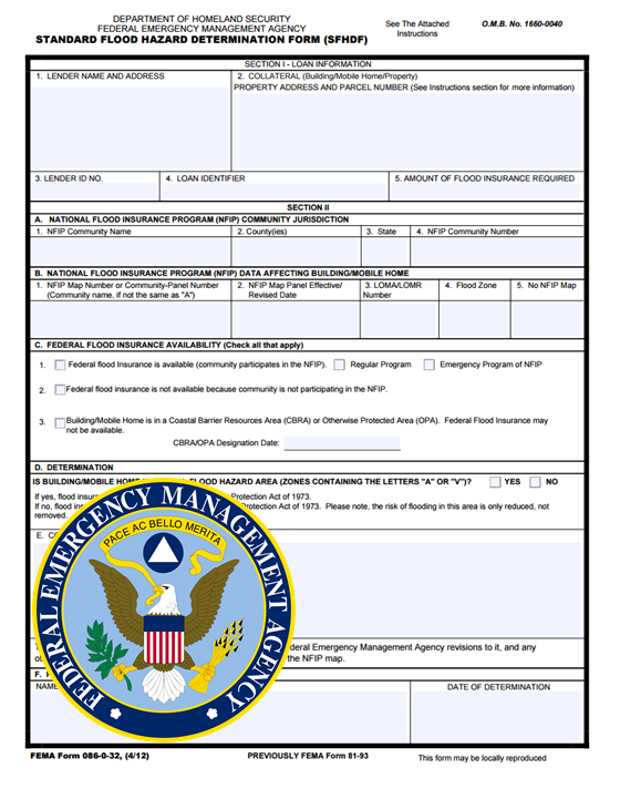 FEMA Flood Determination Form New FEMA Flood Map - Fema flood maps texas